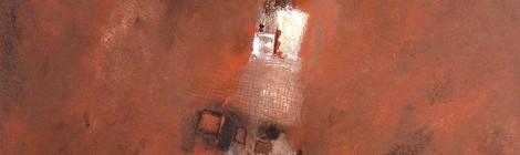 Moderne Acrylmalerei - Turm