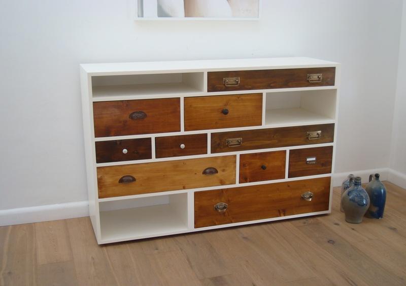 schubladen m bel handveredelt mit einem antik look. Black Bedroom Furniture Sets. Home Design Ideas