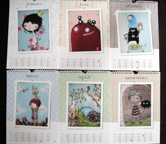 Künstler-Kalender von Linnix