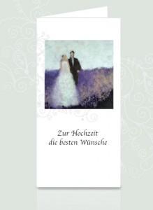 Hochzeitskarte ausdrucken