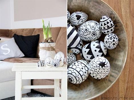 Eier bemalen zu Ostern