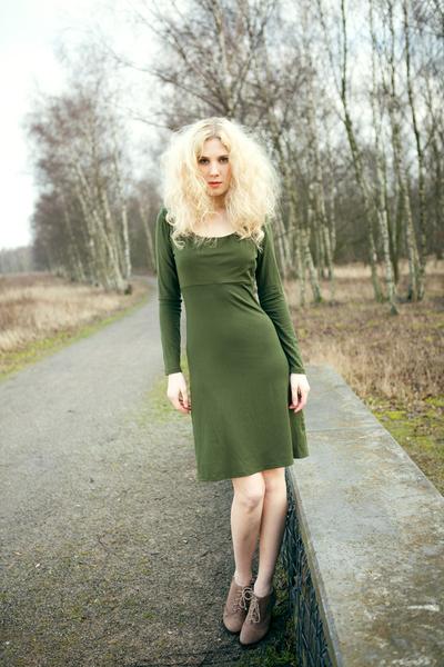 Kleid Blanka in Grün