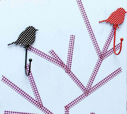 Individuelle Garderoben mit hübschen Haken erstellen