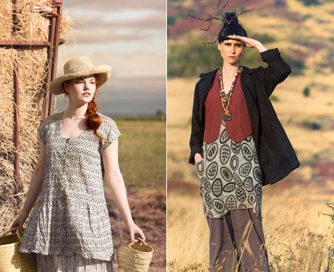Damenbekleidung aus Schweden