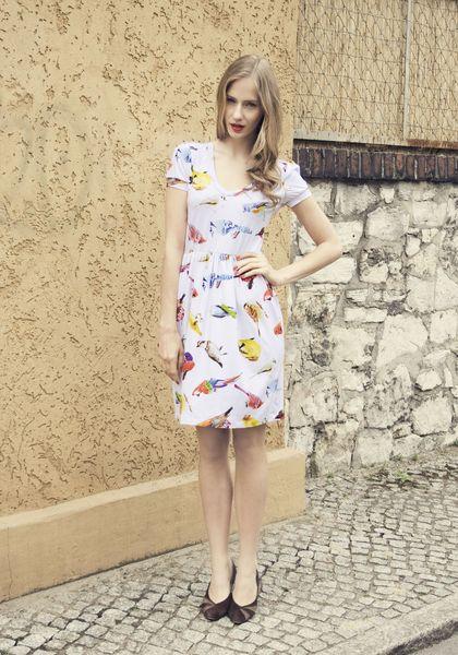 Sommerkleider, hier 'Birdy-Lelina' von Louzoù