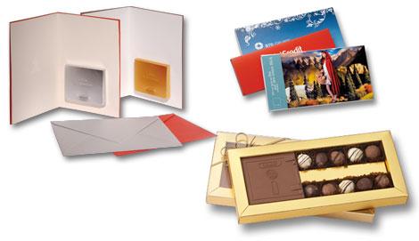 Werbegeschenke aus Schokolade
