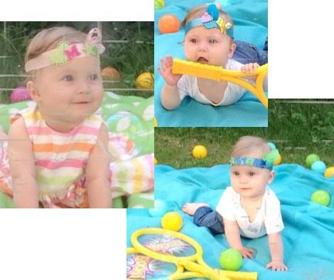 Headpieces für Kinder von CherryDot