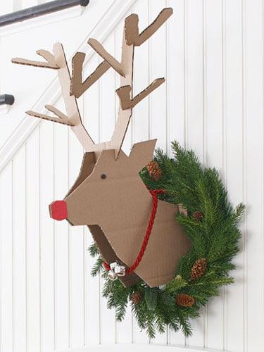 basteln zu weihnachten kreative ideen aus papier stoff und holz. Black Bedroom Furniture Sets. Home Design Ideas