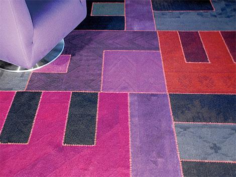 Patchwork-Teppich Kilim