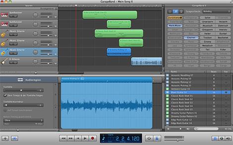 Musik selber machen mit GarageBand