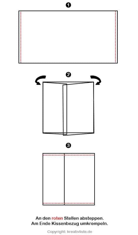 kissen n hen f r eine sch ne wohnraumdekoration kreativliste. Black Bedroom Furniture Sets. Home Design Ideas