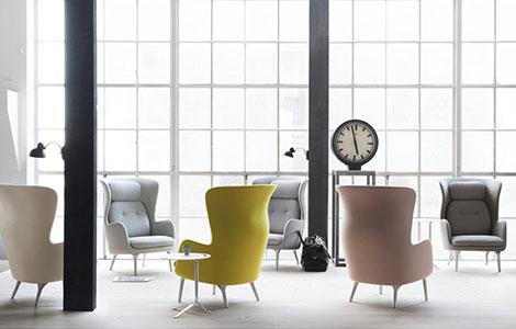 Ro™ ist der komfortable Sessel vom Designer Jamie Hayon