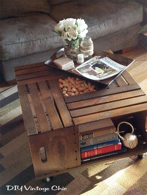 Kreative möbel selber machen  Aus Weinkisten tolle Möbel selber bauen | kreativLISTE