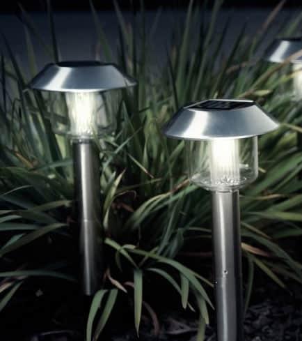 Solarlampen im Garten nutzen