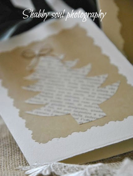 Weihnachtskarten selber basteln aus tonkarton und alten for Originelle weihnachtskarten