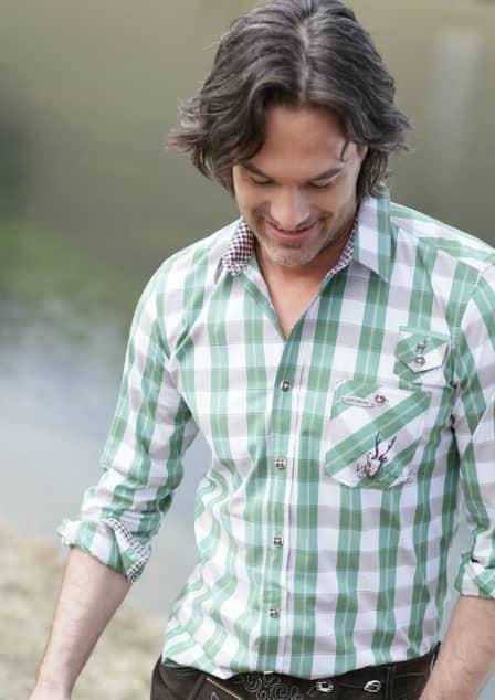 Trachtenmode: Herrenhemd von Spieth & Wensky