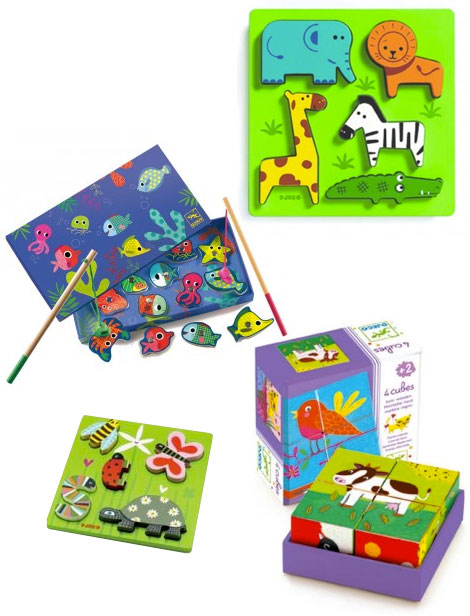 Djeco Spielzeug aus Frankreich