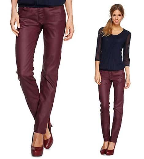 Glanz-Optik funktioniert auch bei Jeans