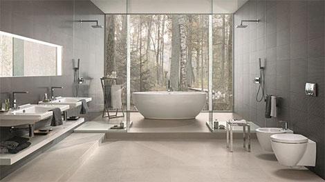 fliesen sorgen f r ein eher warmes oder k hles ambiente im. Black Bedroom Furniture Sets. Home Design Ideas