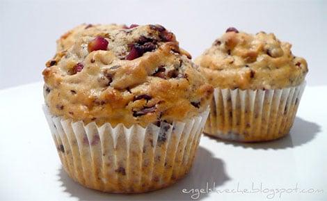 Granatapfel-Kokos-Muffins