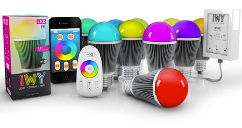 LEDs-Birnen können über eine E27-Fassung eingesetzt werden