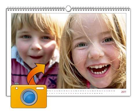 Fotos verschenken in Form eines Herzpuzzles