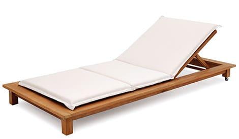 Futon-Liege aus Holz