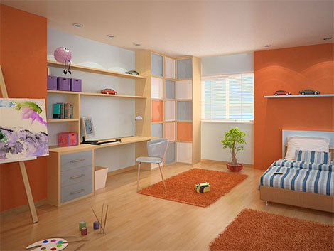 farbe kinderzimmer design. Black Bedroom Furniture Sets. Home Design Ideas