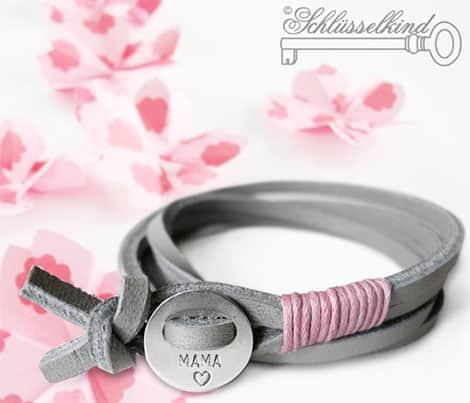 Personalisiertes Armband mit Anhänger aus 925er-Silber