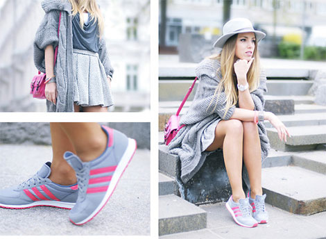 Sportschuhe werden beim Trend Sport-Chic nun auch im Alltag getragen