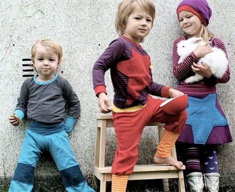 Die beliebte mitwachsende Wax-Hose begleitet Ihr Kind gut und gerne zwei Lebensjahre