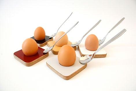 Eierbecher als originelle Geschenkideen