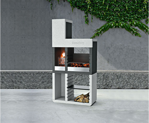 Grillkamin »One Tower«