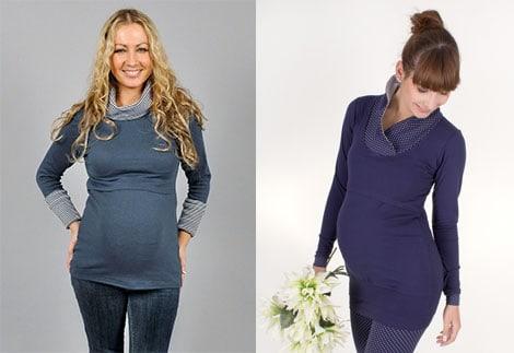 Umstandskleidung und Stillmode für junge Mütter