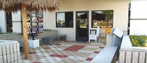 Kunststoff Bodenplatten im Außenbereich