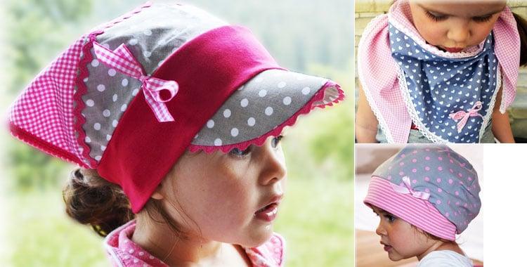 Originelle Mützen, Schals und Kopftücher für die Kleinen