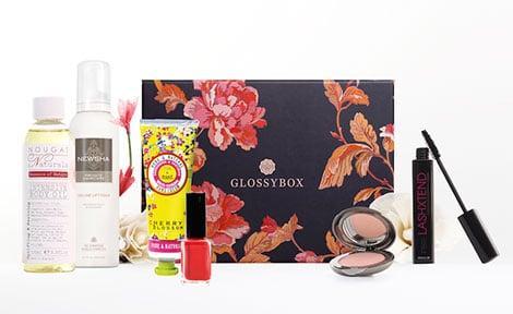 Abo-Geschenke sind beliebt, z.B. Beispiel die Glossy Box