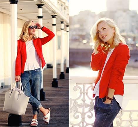 Gemütlich und trendy ist dieses Agentur-Outfit