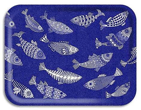 """Tablett """"Blue Fish"""""""