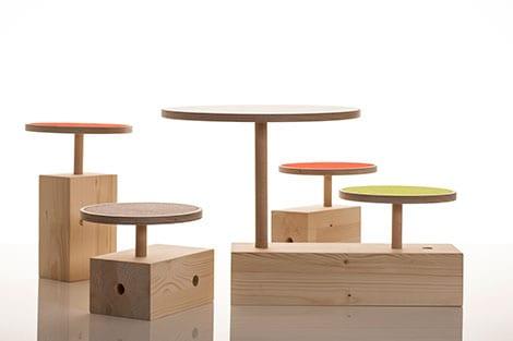 Verstellbare Tisch-Hocker© www.beabitzer.de