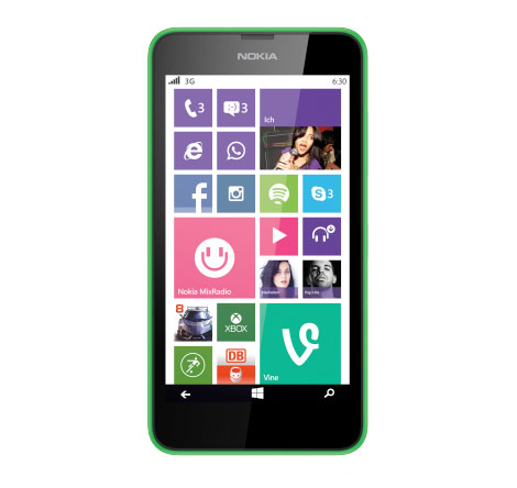 Das Nokia Lumia 630 ist eine große Hilfe im mobilen Büro