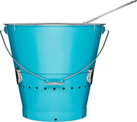 BBQ Grilleimer XL blau