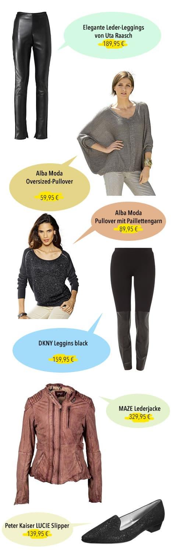 lederjacke lederhose - Look der Woche 34/2014 - Lederhosen und Silber-Look