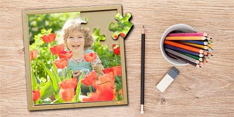 Fotopuzzles sorgen für die besondere Spielfreude