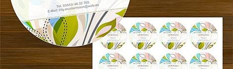 Individuelle Etiketten verleihen Verpackungen eine persönliche Note