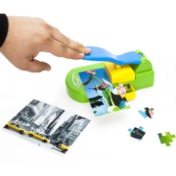 Mit einem Puzzlestanzer können eigene Puzzles erstellt werden