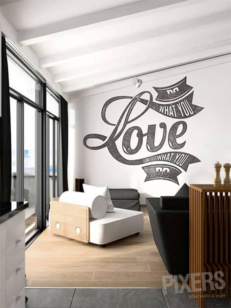 Dieser Sticker bezaubert wie ein wunderschönes Graffiti