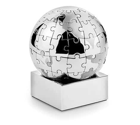 Puzzle als Deko-Objekt