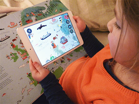 LeYo! verbindet klassisches Buch mit interaktivem Spielspaß am mobilen Gerät
