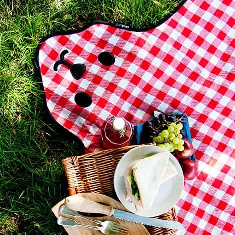 Picknickdecke Bärchen
